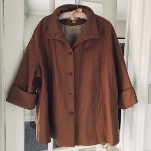 H&M Trend XS Wool Blend trapeze Jacket AS IS